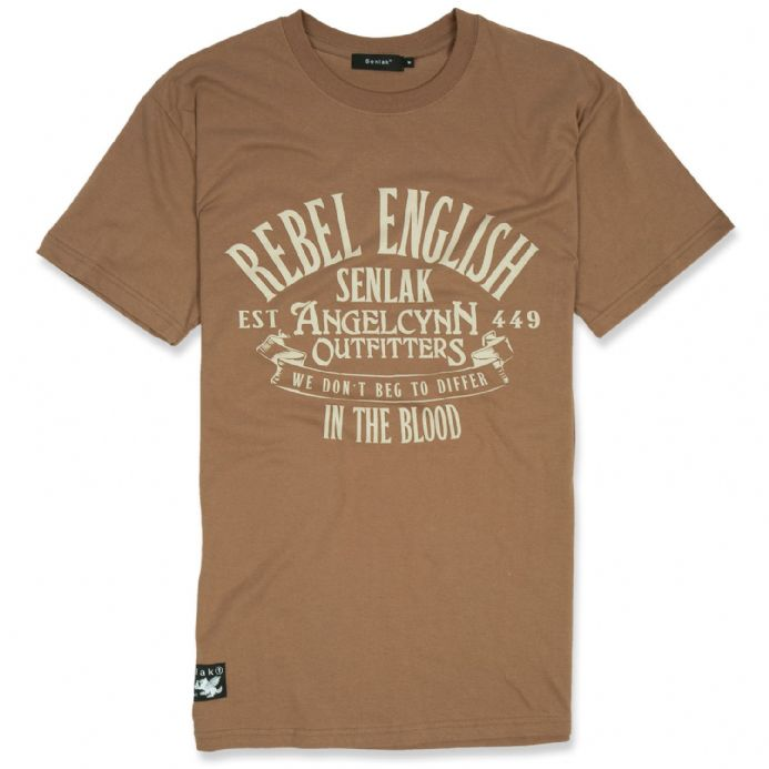 English Rebel T-shirt - Chestnut